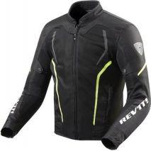 REV!T Rev'it Bunda na motocykel GT-R Air 2, čierna-neonová žltá | FJT242-1450, rev_FJT242-1450-XL - gap-trade-sk