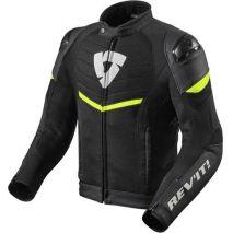 REV!T Rev'it Bunda na motocykel Mantis, čierna-neonová žltá | FJT264-1450, rev_FJT264-1450-XXL - gap-trade-sk