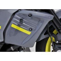 Bodystyle BODYSTYLE bočný kryt chladiča, šedý/žltý | 6580624, bds_6580624 - gap-trade-sk