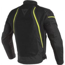 Dainese Dainese  AIR CRONO 2  textilná bunda ,  BLACK/BLACK/FLUO-YELLOW 201735202-N49, dai_201735202-N49_44 - gap-trade-sk