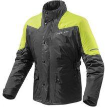 REV!T Rev'it Bunda na motocykel do dažďa na motocykel Nitric 2 H2O, čierna-neonová žltá | FRC009-1450, rev_FRC009-1450-XYL - gap-trade-sk