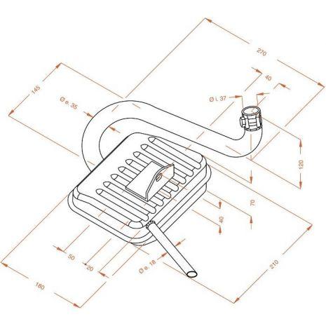 LeoVince výfuky Leovince SITO komlet výfukový systém, nerezový Racing - VESPA SPRINT | 0211, leo_0211 - gap-trade-sk